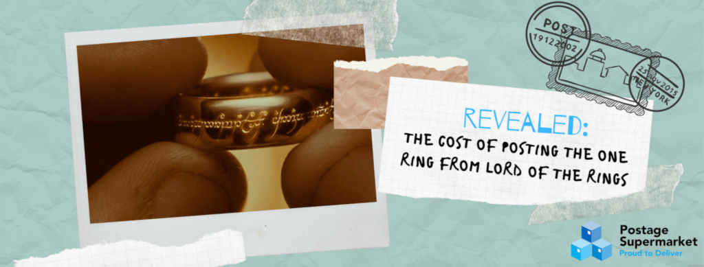 "Featured image for ""REVEALED: The cost of posting the one ring from Lord of the Rings"" article"